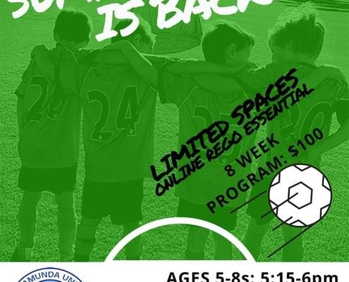 Summer Soccer is Back 2021